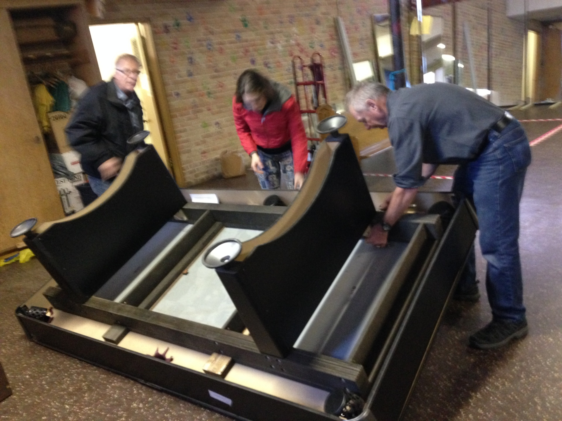 Games Table Gift to Split Lake Community November 2016